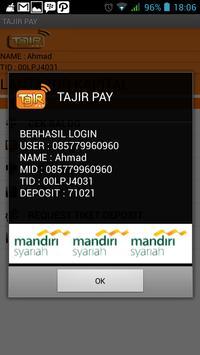 Tajir Pay apk screenshot