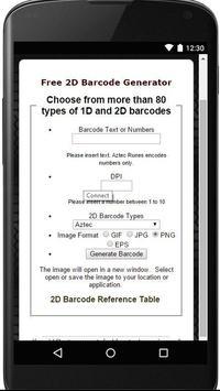 Barcodes-Now apk screenshot
