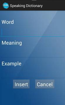Speaking Dictionary apk screenshot