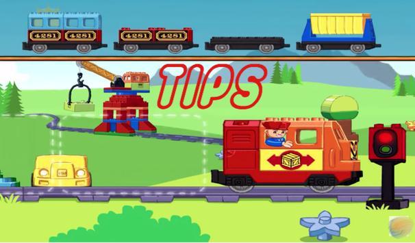 New Tips LEGO DUPLO Train apk screenshot