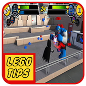 New Tips LEGO DC Super Heroes icon