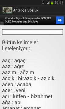 Antepçe Sözlük poster