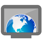 Web Browser for Android TV icon