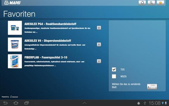 Mapei AT apk screenshot