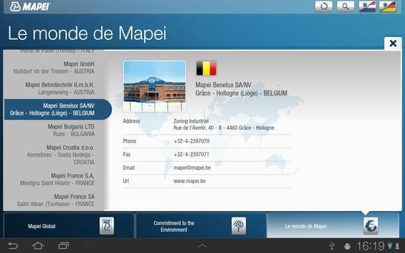 Mapei BE apk screenshot
