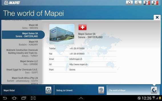 Mapei CH apk screenshot