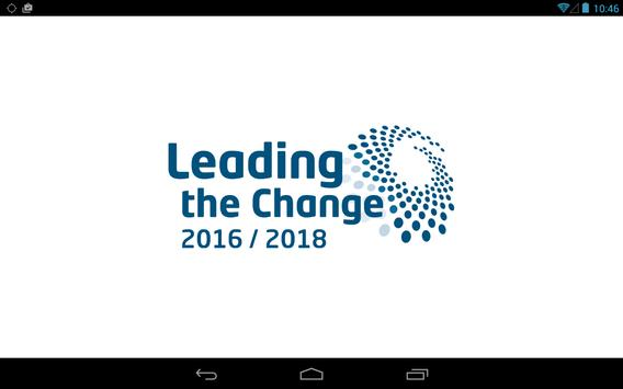 Leading The Change - Tablet poster