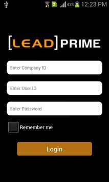 LeadPrime CRM poster