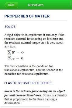 Mechanics - Physics apk screenshot