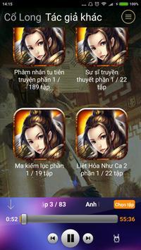 Truyện Kiếm Hiệp (Audio) apk screenshot