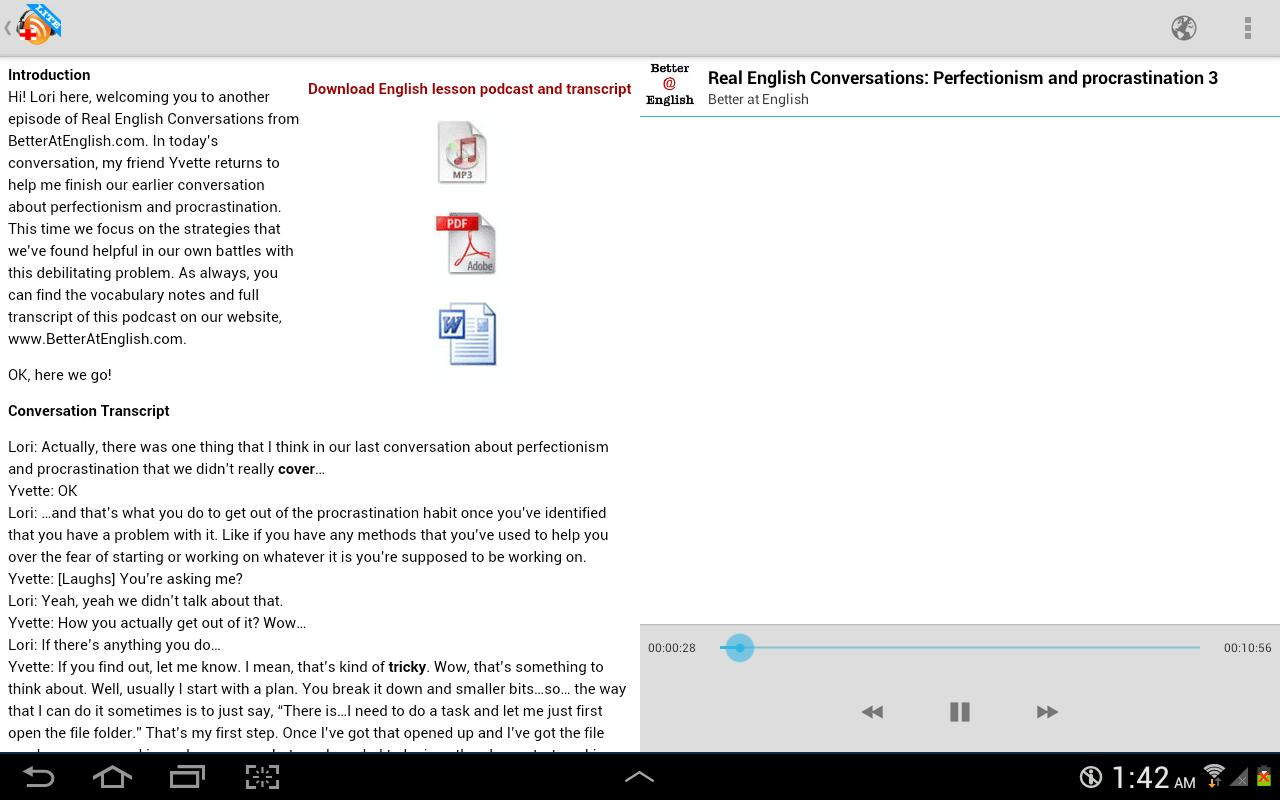 LearnEnglish Podcasts - Free English listening for Android ...