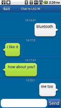 Bluetooth Chat No Ads apk screenshot