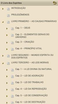 O Livro dos Espíritos apk screenshot