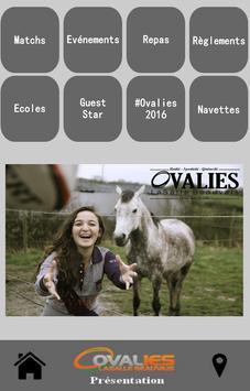 Ovalies 2016 poster