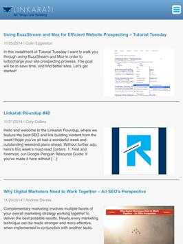 Linkarati Blog apk screenshot