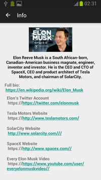 Elon Musk Fan apk screenshot