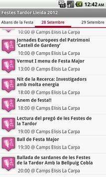Festes Tardor Lleida 2012 apk screenshot