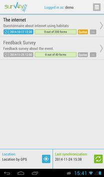 SurveyJazz apk screenshot