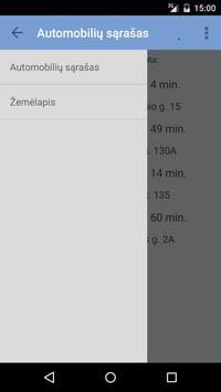 eTransportas App apk screenshot