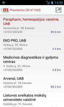 Medicina.lt apk screenshot