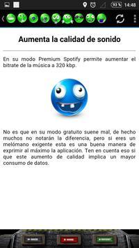 Trucos para Spotify apk screenshot