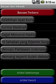 Bacaan Islami apk screenshot