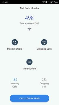 Call Data Monitor apk screenshot