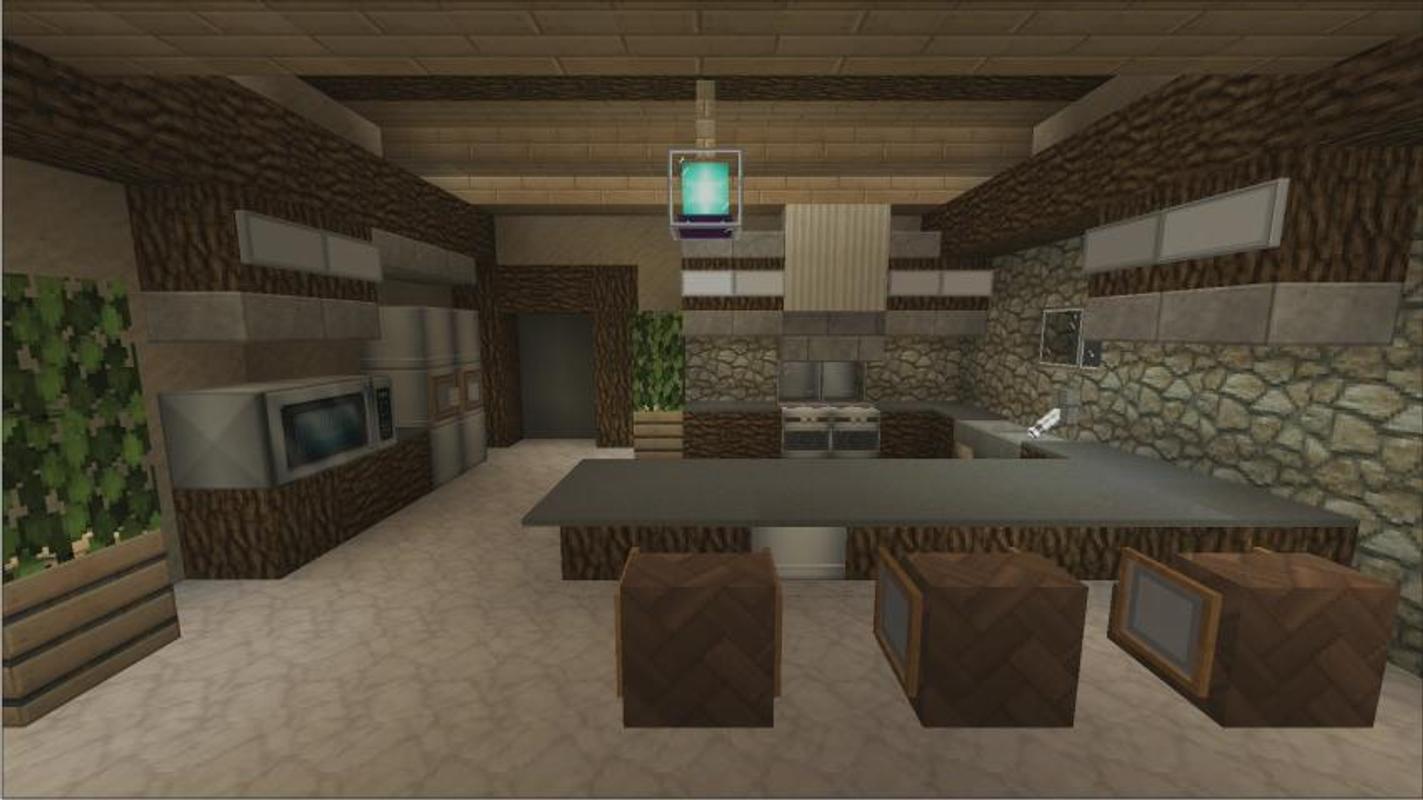 Kitchen craft ideas minecraft apk download free puzzle for Kitchen ideas minecraft