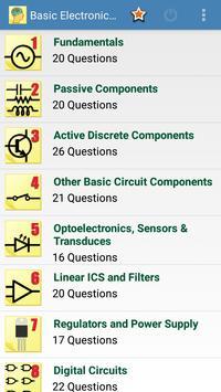 Basic Electronics Q&A poster