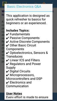 Basic Electronics Q&A apk screenshot