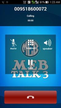 MEB Talk 3 apk screenshot