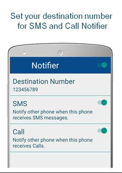 SMS + Call Forwarding poster