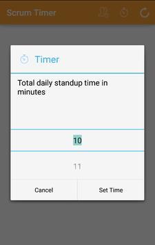 Scrum Timer apk screenshot
