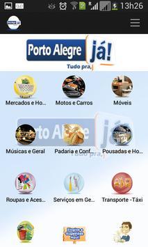 Porto Alegre Já poster