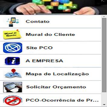 PCO SERVIÇOS E VISTORIAS apk screenshot