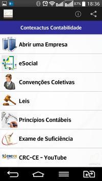 CONTEXACTUS CONTABILIDADE apk screenshot