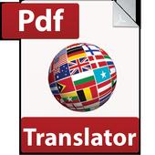 Pdf Translator icon