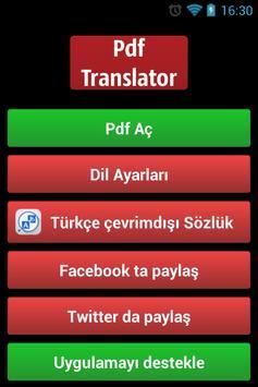 Pdf Translator poster