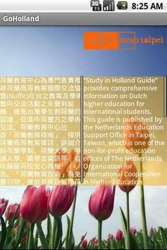 Go Holland poster