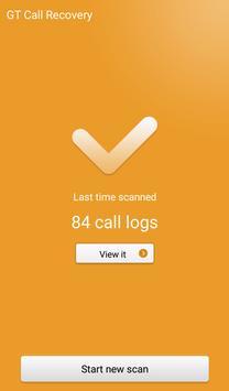 GT Call Recovery apk screenshot