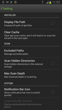 Easy Installer - Apps On SD apk screenshot