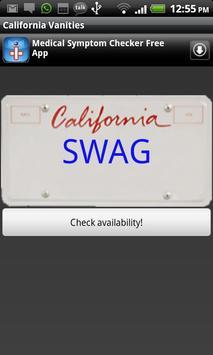 California Vanities poster
