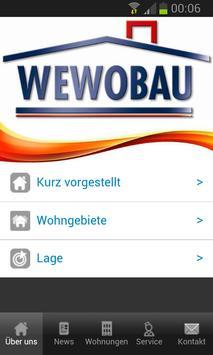 WEWOBAU eG Zwickau poster