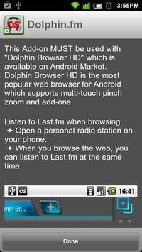 Dolphin.fm apk screenshot