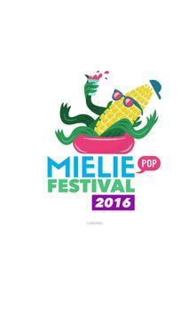 MIELIEPOP FESTIVAL APP poster