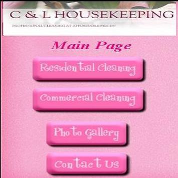 C & L HouseKeeping poster