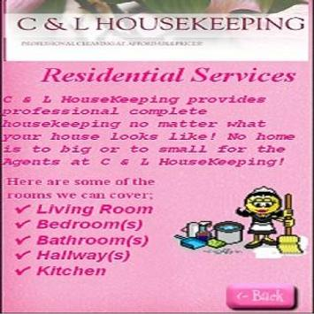 C & L HouseKeeping apk screenshot