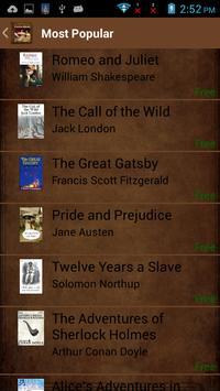 Classic Ebooks apk screenshot