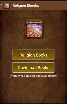 Religion Ebooks poster