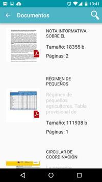 Info PAC apk screenshot